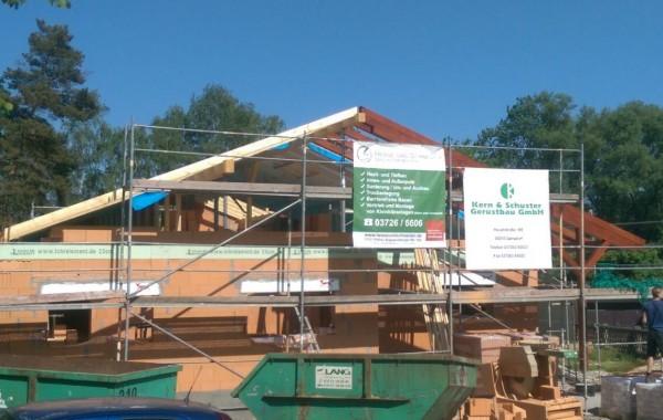 Neubau Einfamilienhaus in Gersdorf
