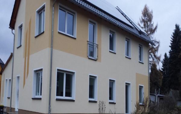 WDVS an Mehrfamilienhaus in Jahsdorf
